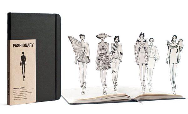 fashionary スタイル画を描いたりするのに便利な手帳