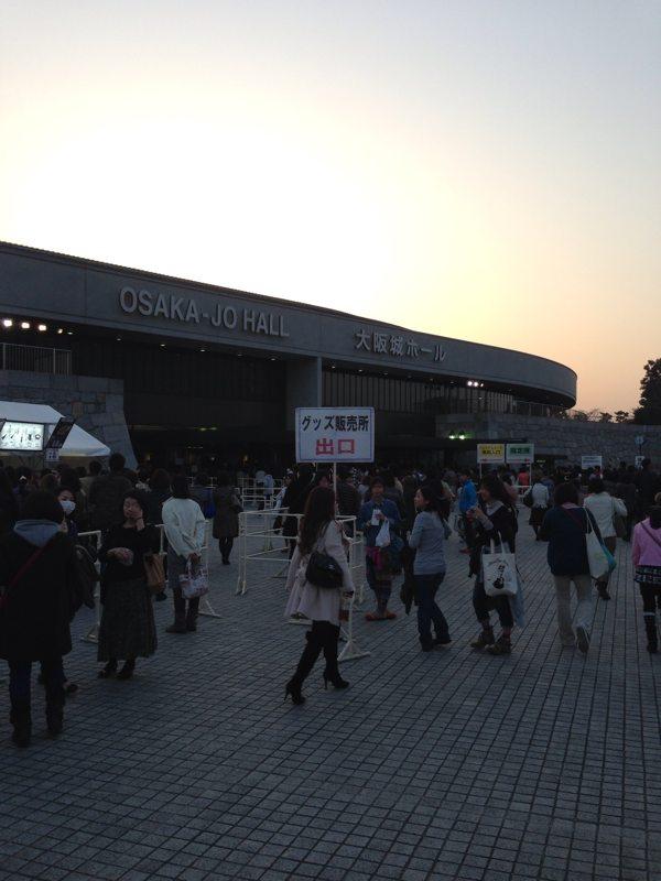 米米クラブツアー「大天然祭」 大阪城ホール 3/9