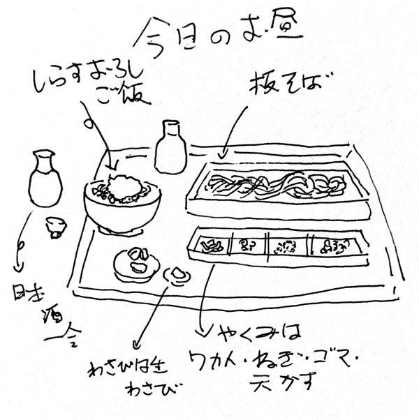 蕎麦と日本酒(つらつらにっし)