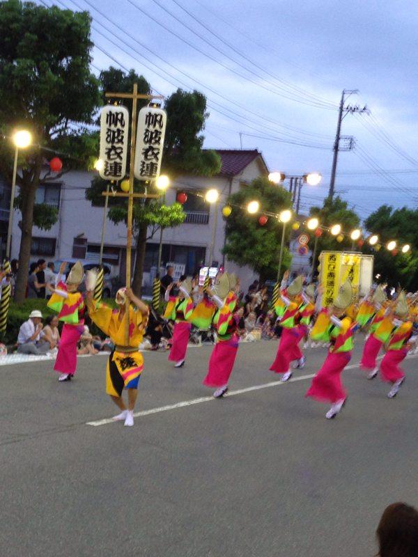 南越谷阿波踊りを観てきた