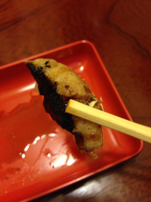 かよう亭 蕎麦の蒲焼き