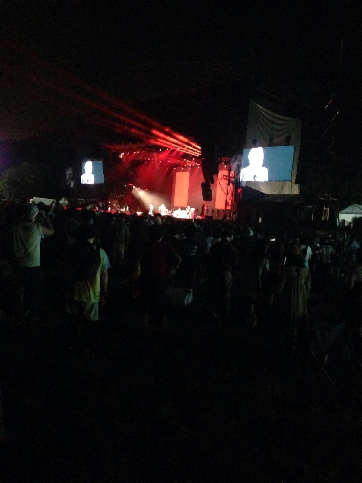 フジロックフェスティバル14 1日目(2014/7/25金曜日)
