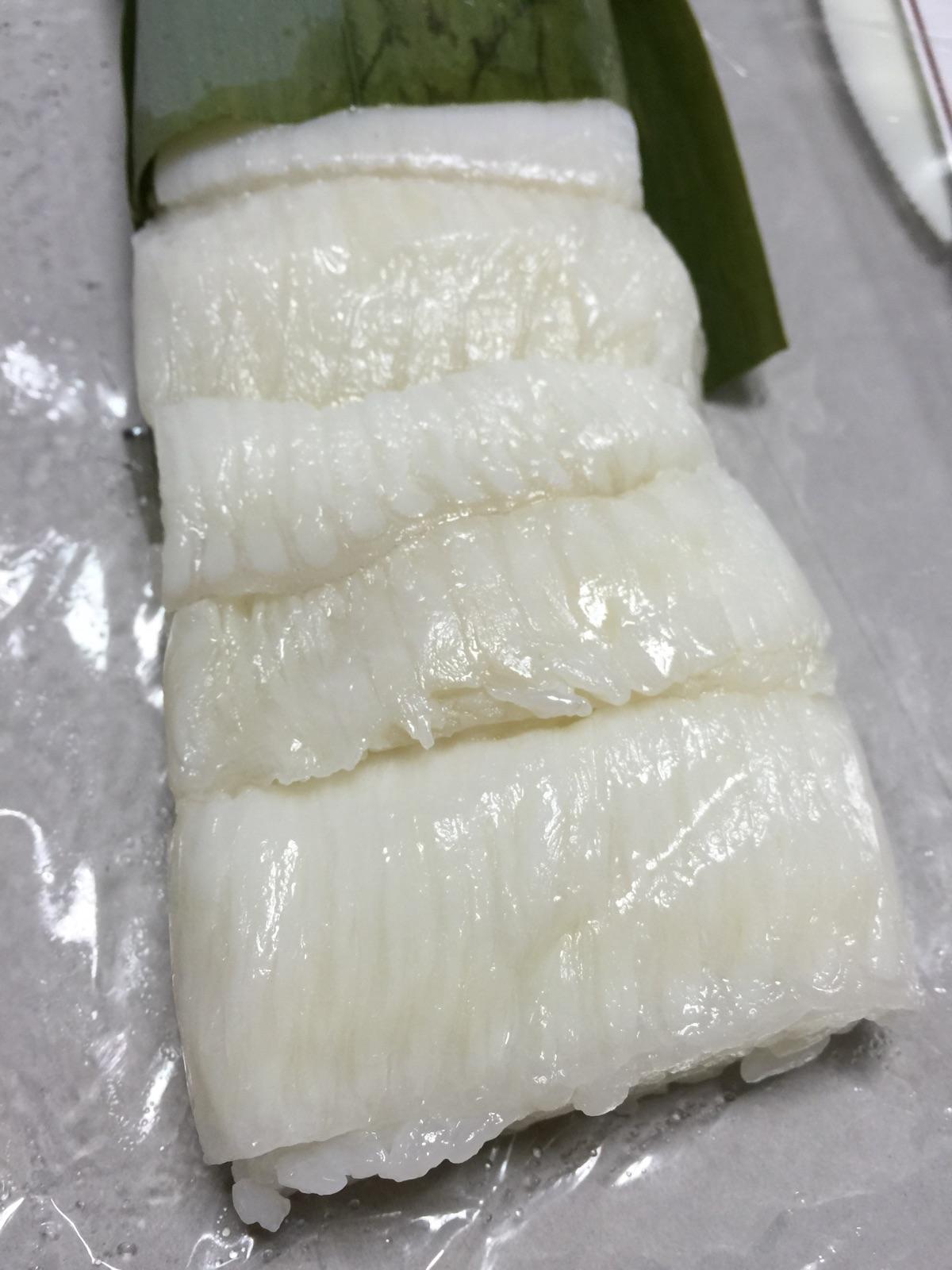 えんがわの押し寿司