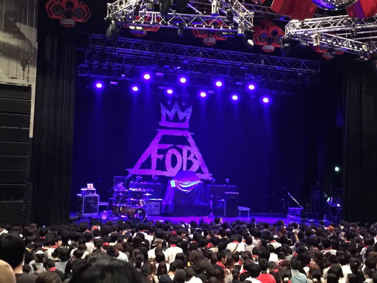 Fall Out Boy @新木場STUDIO COAST