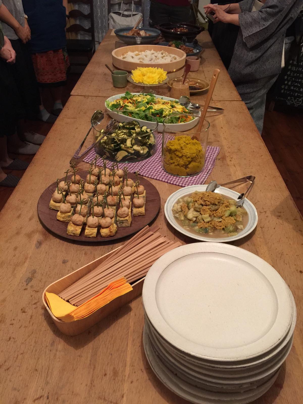wato kitchen×竹ノ輪「第2回 重陽の節句の会」