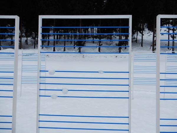 本間惠子「雪を聴く」