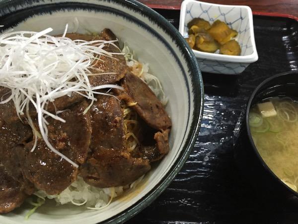 鹿肉の味噌漬け丼