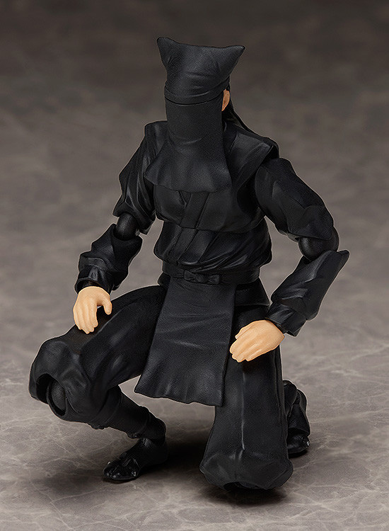 3体買えば文楽遊びとかできそう……「figma 黒衣」が気になる!