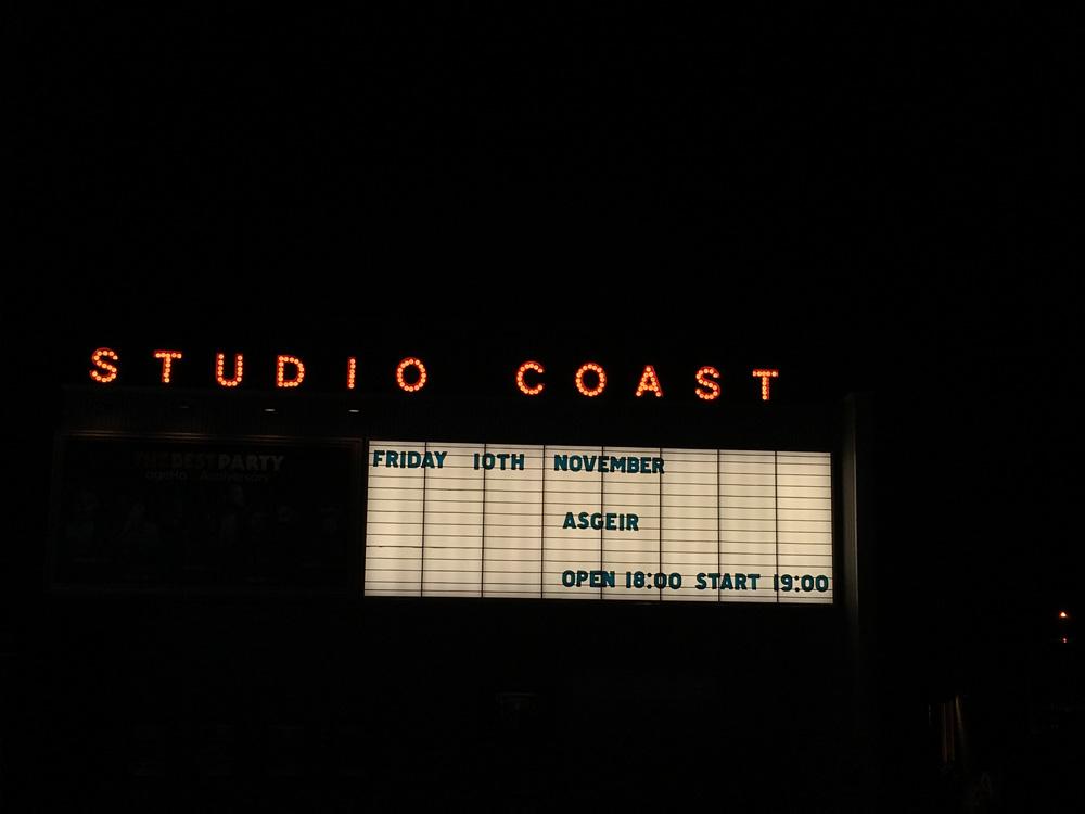 スタジオコーストで開催。魂を浄化されるようなサウンド!Ásgeir (アウスゲイル)待望のライブ
