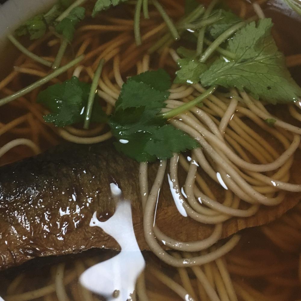江戸の辛めの麺つゆにあった辛口のお酒!木場のお蕎麦屋さん「長寿庵」#蕎麦 #日本酒