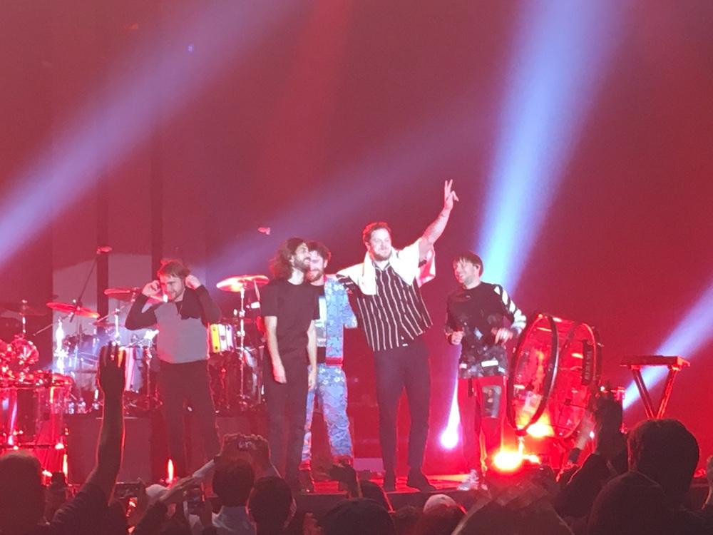 今年最初のライブまで鑑賞は、IMAGINE DRAGONSの東京公演!「EVOLVE WORLD TOUR LIVE IN JAPAN」