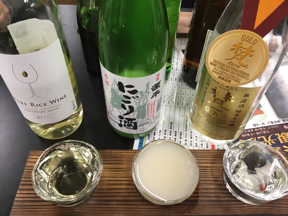 500円で3杯飲めちゃう!新宿京王で開催中の福井物産展はヤバイぞ!