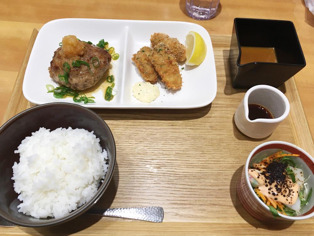 全体的に優しい味わい、渋谷ヒカリエの「京洋食 あかつき」