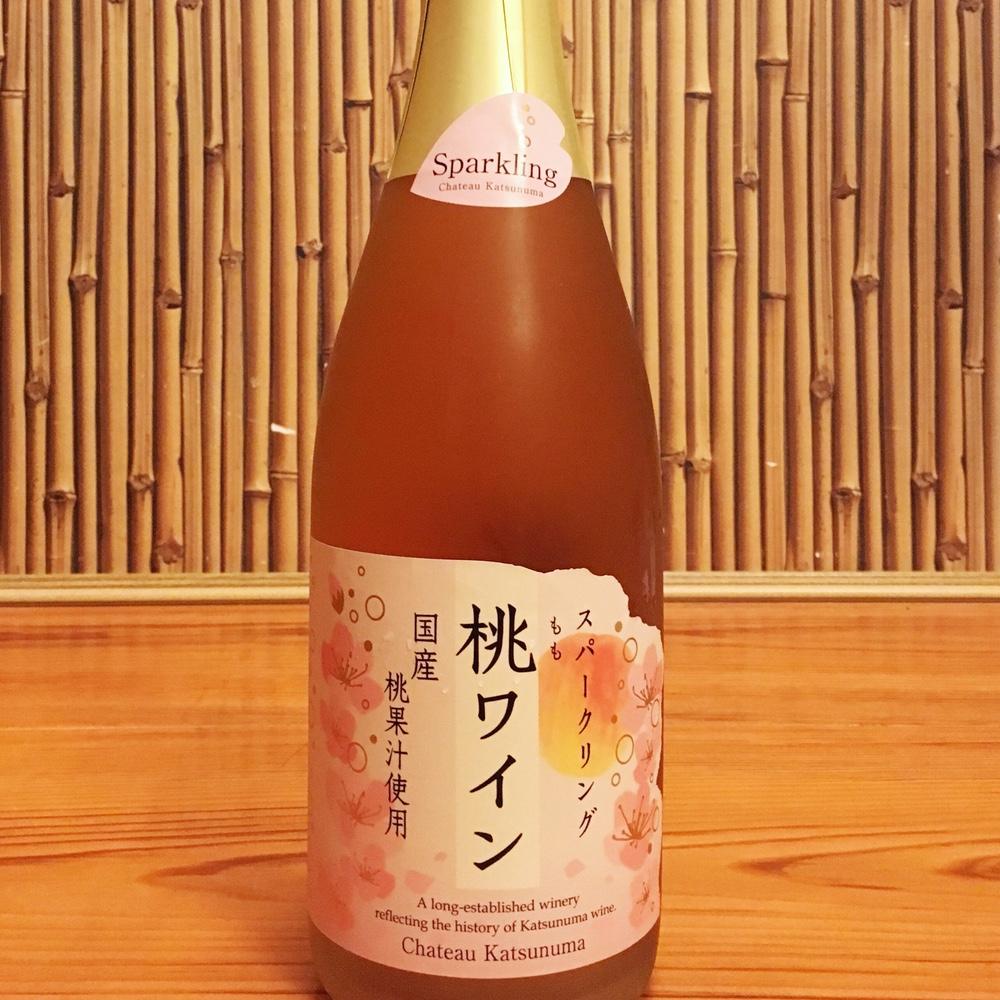 山梨で飲んだ「スパークリング桃ワイン」が美味い