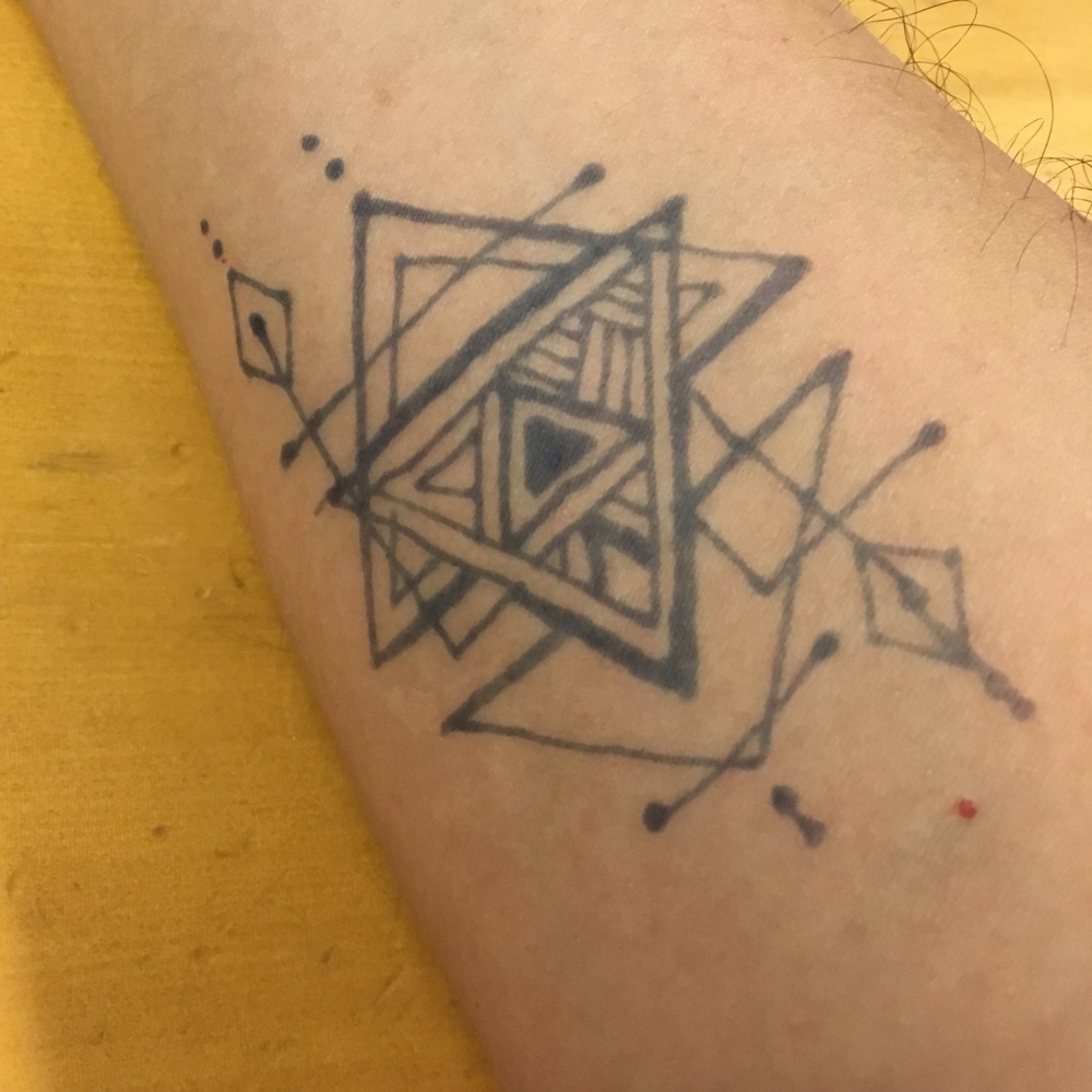 Labyrinthでジャグア・タトゥーをやってみた