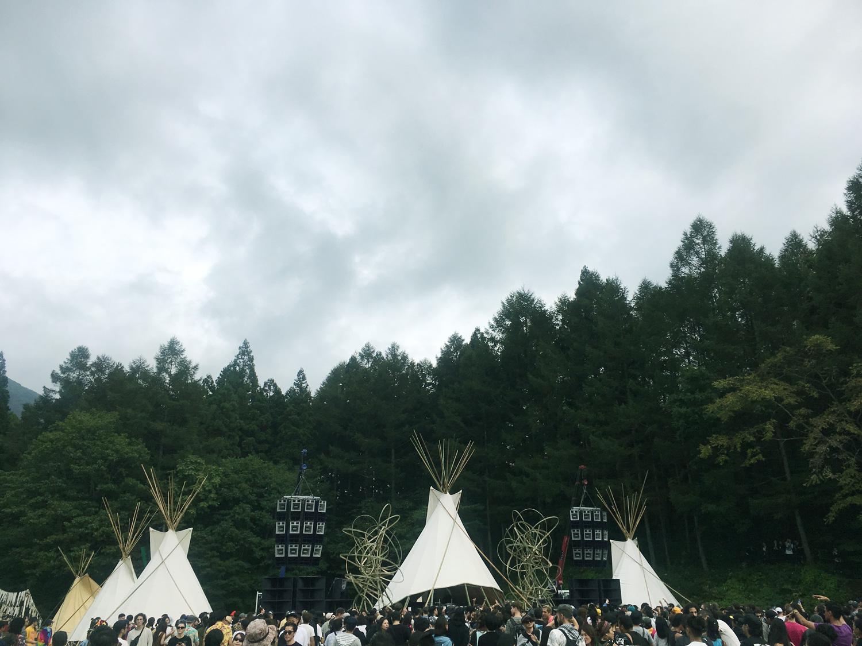 今年のLabyrinth(ラビリンス)は、群馬県みなかみ町にある宝台樹キャンプ場かあ。