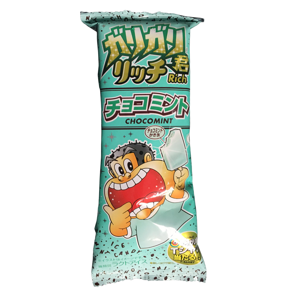 今年もキタキタ!復活の「ガリガリ君 リッチ チョコミント」はやっぱり美味いねえ