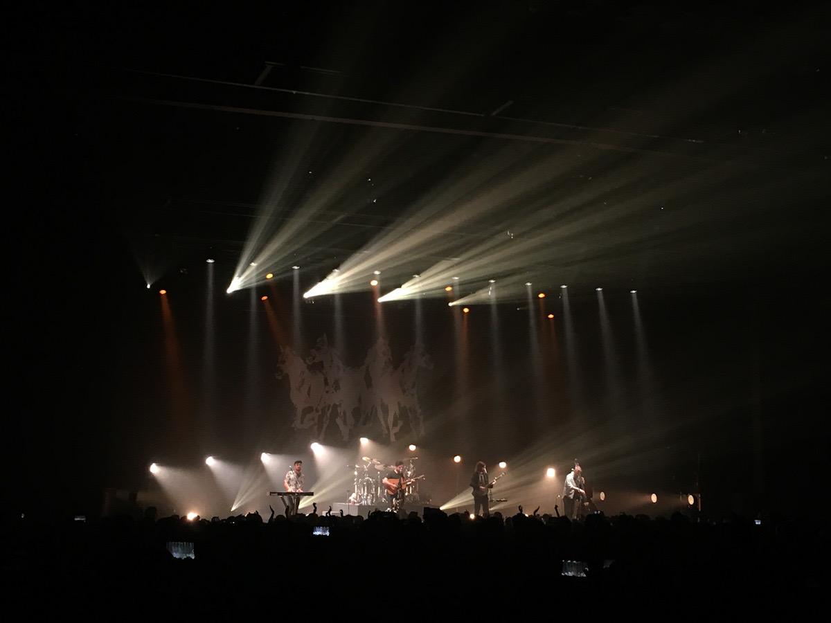 Mumford & Sons live in Japan