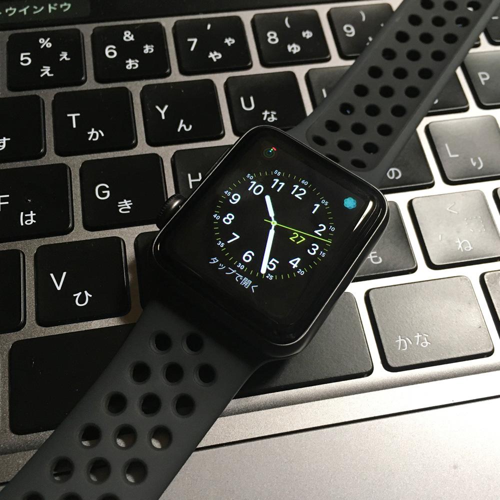 apple watch 3の38mmを買ってみた