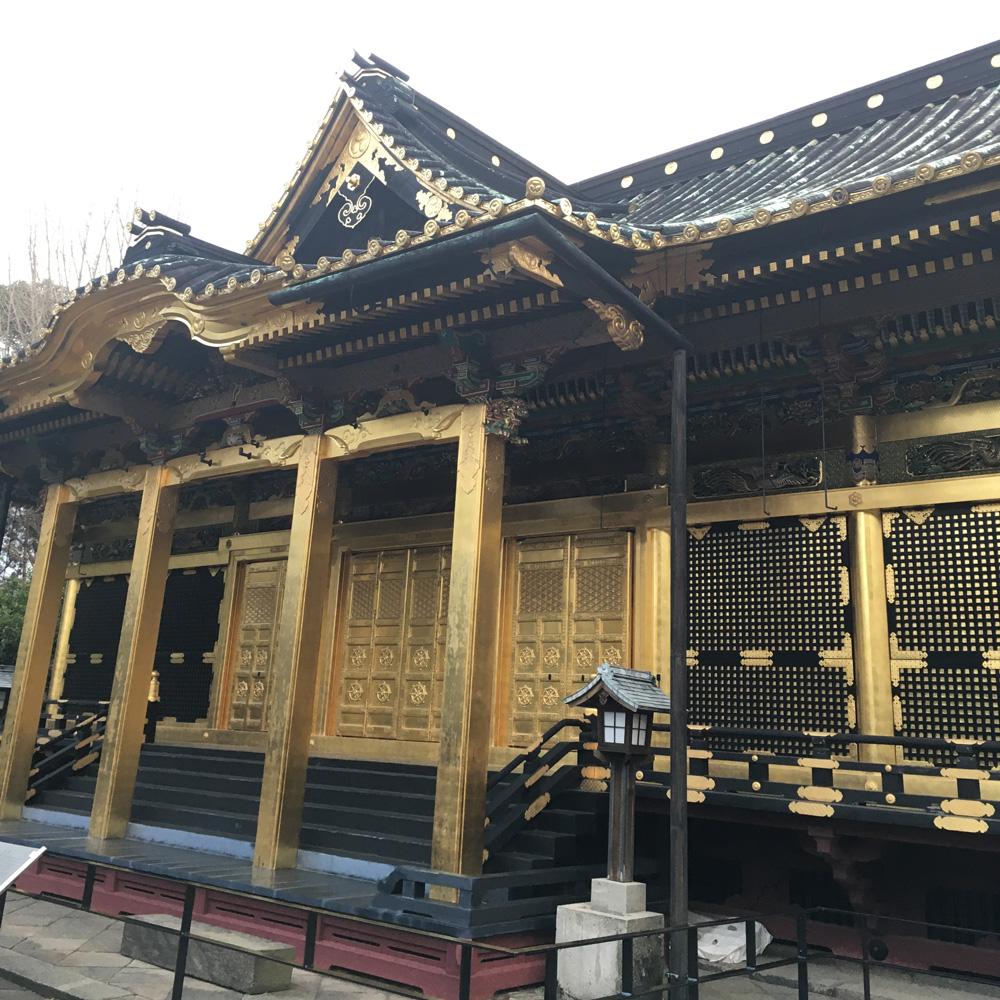 Webご朱印帳「上野東照宮」