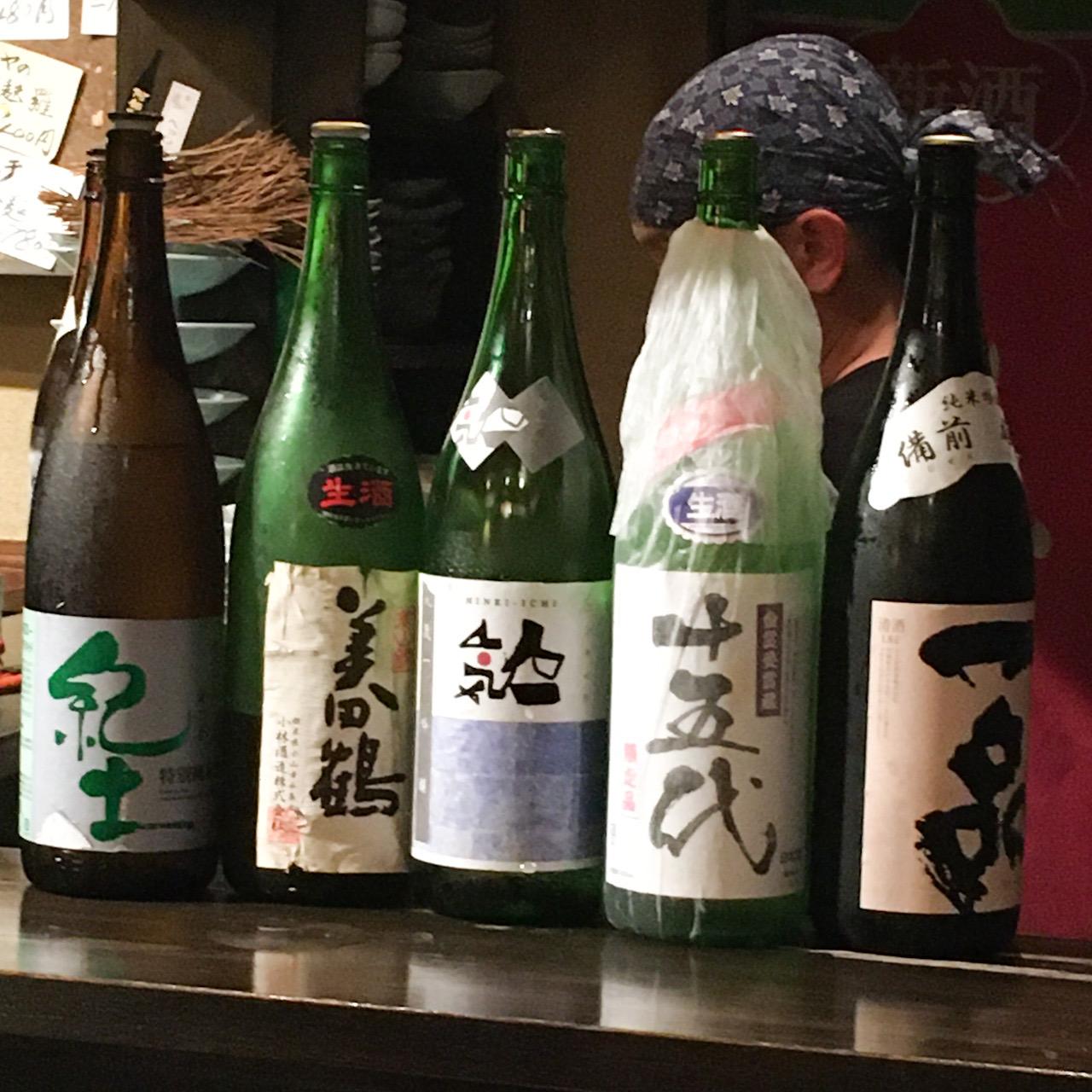 東伏見、青梅街道から住宅街に入ったこだわりの日本酒が楽しめるお店「居酒家・べっしゃん」